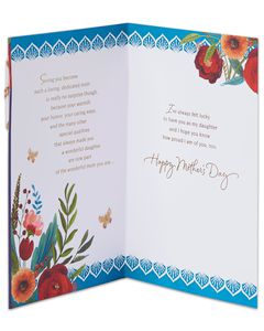 Proud Mother's Day Card for Daughter