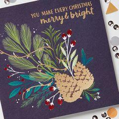 Christmas Thank You Greeting Card