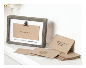 Mud Pie Inspirational Cards Frame Set