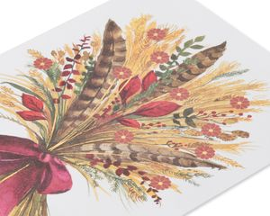 Wheat Bunch Thanksgiving Greeting Card