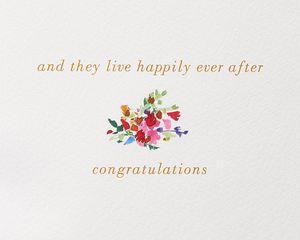 Girl Meets Girl Lesbian Wedding Greeting Card