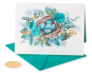 Beautiful Spring Easter Greeting Card