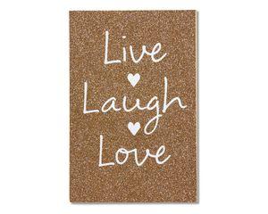 live laugh love wedding card