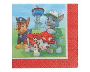 paw patrol lunch napkins 16 ct