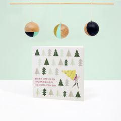 Good Things Christmas Greeting Card