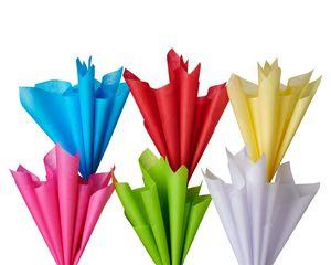 Tissue Paper Bundle, Solids, 48 Sheets