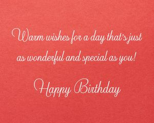 Minnie Mouse Birthday Greeting Card