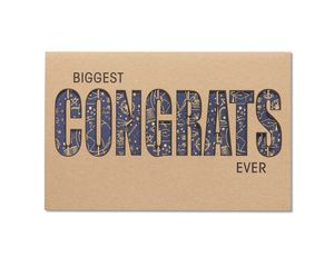 Biggest Congrats Ever Graduation Card