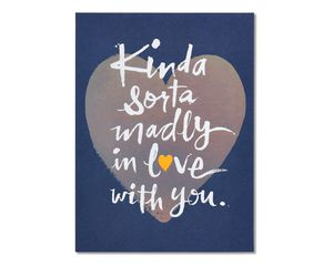 madly in love father's day card