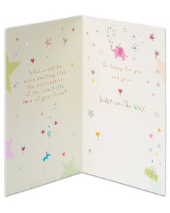 Almost Here New Baby Congratulations Card