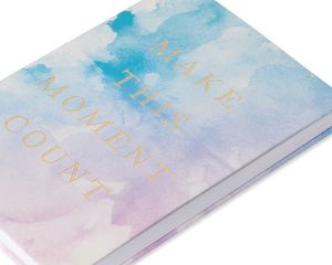Eccolo Watercolor Make This Moment Journal