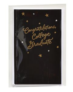 College Graduate Graduation Card
