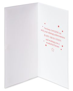 She Believed Graduation Greeting Card