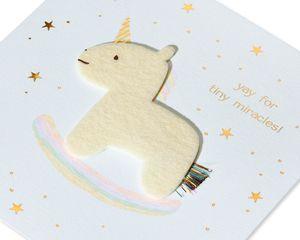 Magic Baby New Baby Greeting Card