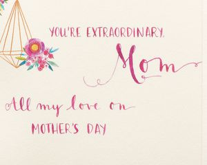 Flowers Mother's Day Card