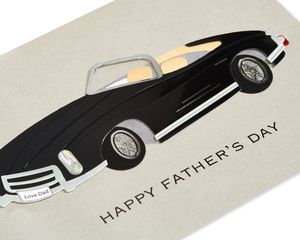 Classic Car Father's Day Greeting Card