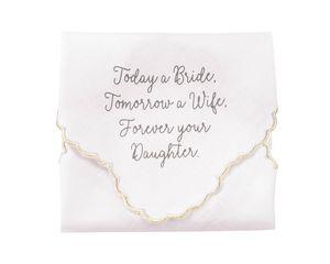 Mud Pie Bride Handkerchief for Mother of the Bride