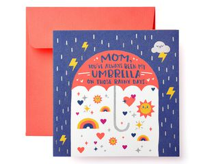 Umbrella Mother's Day Card