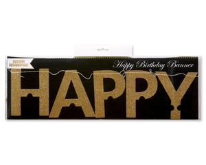 Party Partners Happy Birthday Banner