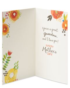 Colorful Floral Mother's Day Card