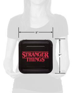 Stranger Things Dinner Plates, 8-Count