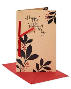 More Than Words Valentine's Day Card