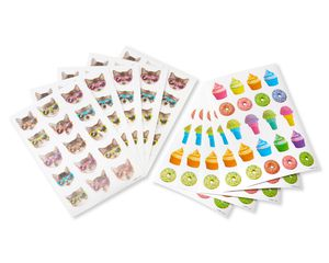 Cool Cats Stickers, 175-Count