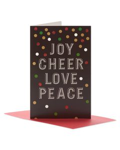 Holiday Wishes Christmas Boxed Cards, 14 Count