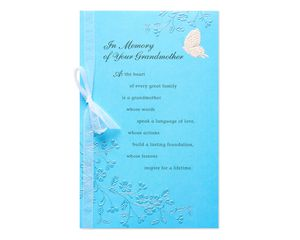 In Memory of Your Grandmother Sympathy Card