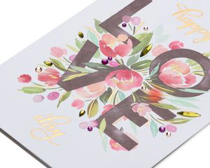 Floral Valentine's Day Greeting Card