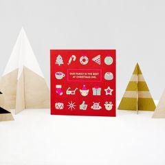 Christmas-ing Christmas Greeting Card for Family