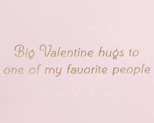 Valentine Hugs Valentine's Day Greeting Card