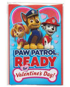 PAW Patrol Valentine's Day Card