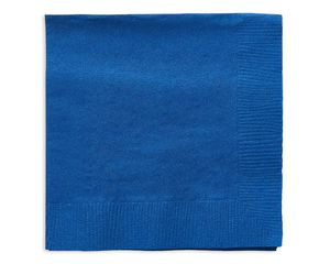 royal blue beverage napkins 50 ct