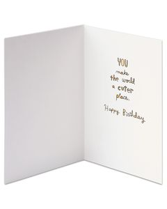 Cuter Place Birthday Card