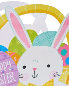 Medium Happy Easter Glitter Gift Bag