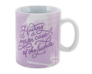 major case of the fuckits coffee mug