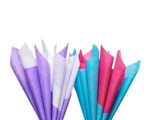 Bright and Bold Tissue Paper, 8 Sheets
