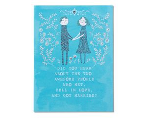 Happily Ever After Wedding Congratulations Card