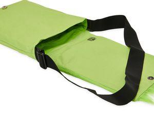 Warm Fuzzy Green Messenger Bag