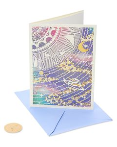Constellation Friendship Blank Greeting Card