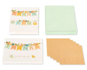 Baby Animals BlankNote Cards with Envelopes, 20-Count