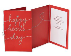 Red Valentine's Day Card Bundle, 3-Count