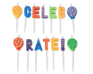 Celebration Birthday Candles, 14-Count