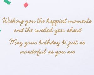 Sisters Little Notes Birthday Greeting Card