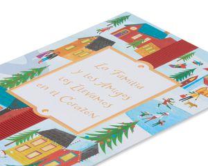 La Familia y Los Amigos Christmas and Feliz Navidad Card