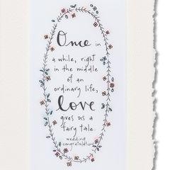Fairy Tale Wedding Greeting Card
