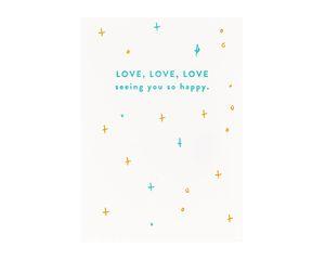 Love Seeing Wedding Shower Card