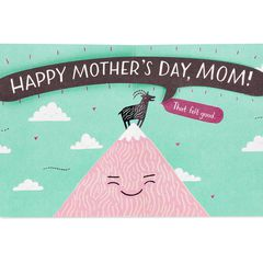 Funny Mother's Day Goat Card