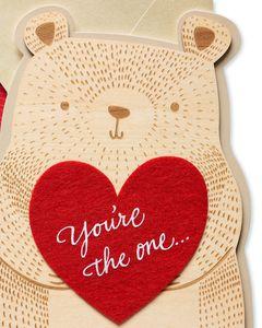 Bear Valentine's Day Card